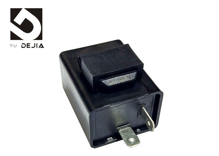 12V Electronic Motorcycle Flasher Relay , GY6 Motorcycle Turn Signal Buzzer Relay