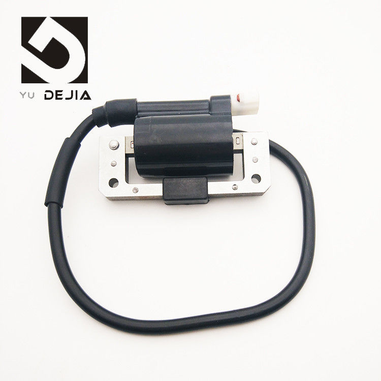 Black Universal Ignition Coil Motorcycle Replacement With 2 Or 4 Strokes Workable